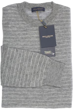 Trui ronde hals Paul & Shark in 100% cashmere